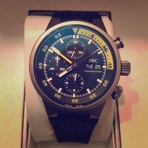 IWC Aquatimer Chronograph Watch 3719, 42MM